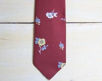 mens ties - vintage ties - mens neckties - vintage 70s