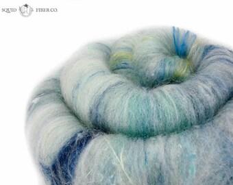 "Art Batt - ""Where Our Voices Sound"" - 2.2 oz - OOAK/Limited Edition - Wool Spinning Fiber for Spinning, Weaving, Felting, Fiber Arts"