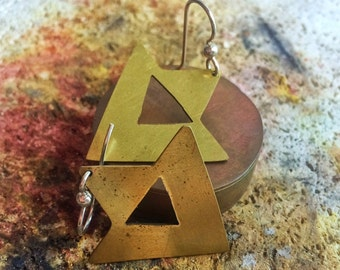 Tri Hipster Force Earrings