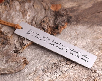Personalized Bookmark -  Engraved Bookmark - Gifts for Readers