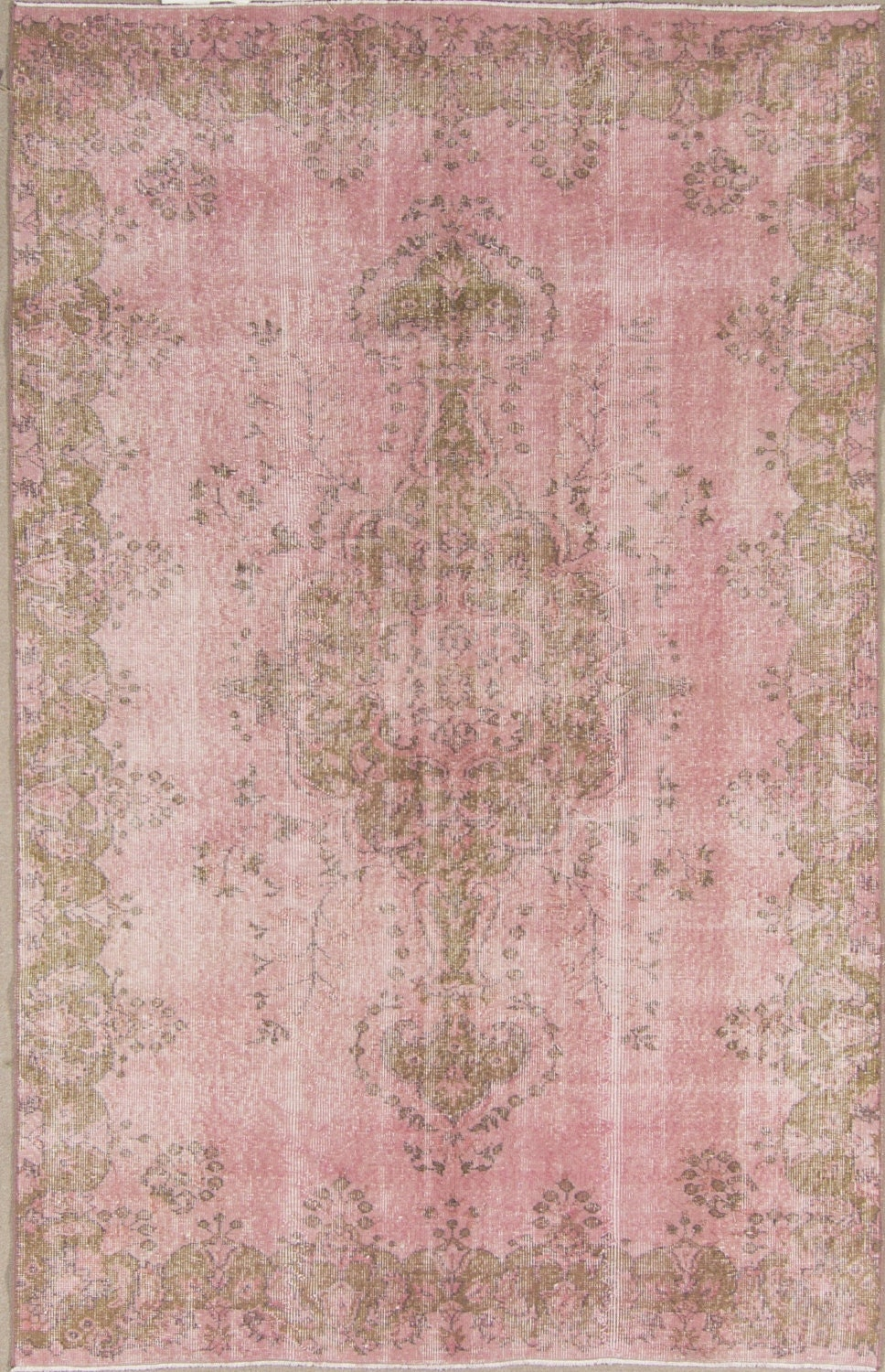 8 5 5 3 ft 259 162 cm vintage pink rosa overdyed handmade for 162 cm to feet