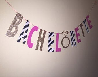 BACHELORETTE banner, Party Banner