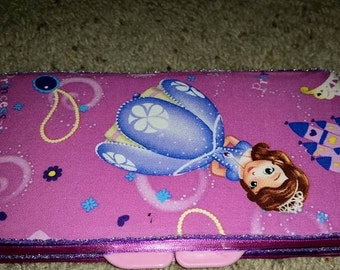 Sofia The First Diaper Wipe Case