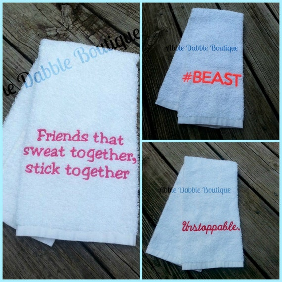 BUY 3 Gym Towel SPECIAL DEAL Sweat Towel By