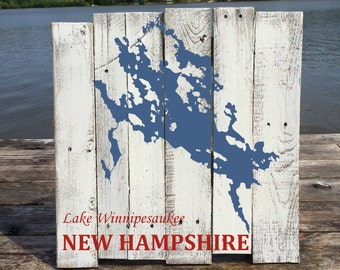 New Hampshire Board Etsy