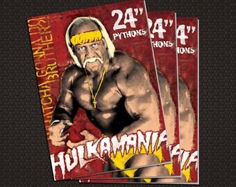 Hulk Hogan Thank You Card with Envelope