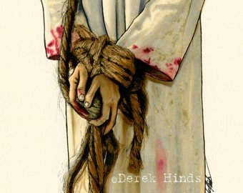 Christ's Hands LDS Art Photo Download