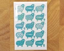 Cymru Sheep Magnet