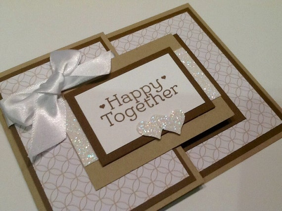 Wedding Shower Gift Card Holders : ... HolderWedding CardHandmade Stampin Up CardBridal Shower Gift