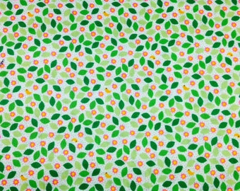 Timeless Treasures SPRING 100% Premium Cotton Quilt Fabric - per 1/2 yd leaves
