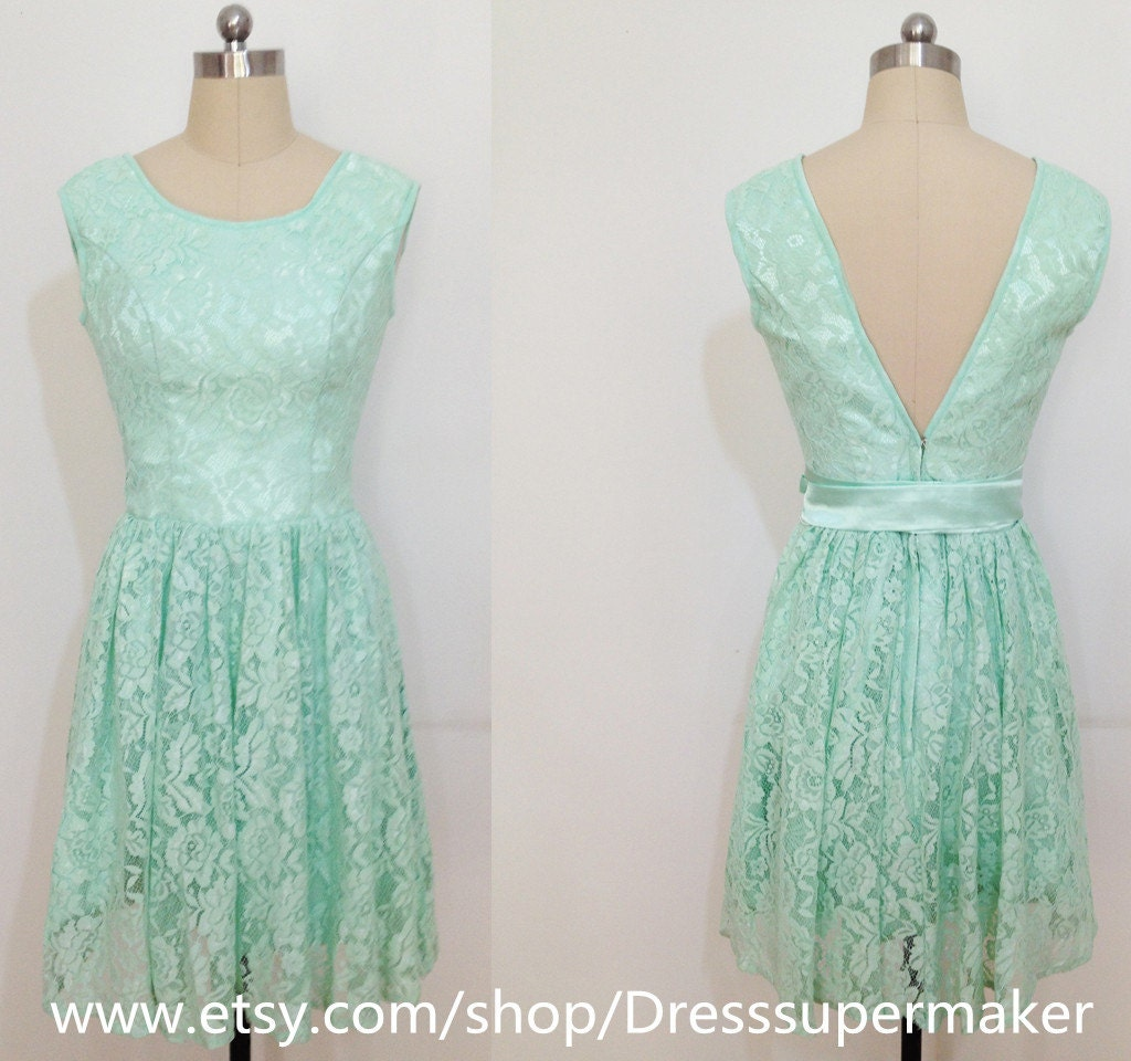 Gallery For Turquoise Lace Bridesmaid Dresses