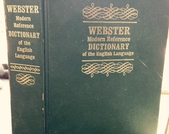 Webster Modern Reference Dictionary of the English Language