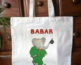 Beautiful Babar tote bag. No.3