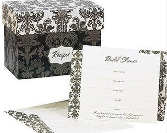 Recipe Bridal Shower Invitation Kit Bridal Shower Ideas