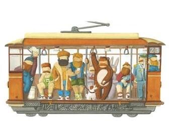 Milano TRAM ... cosy tram! - PRINT