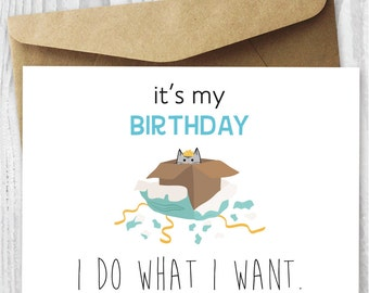 printable birthday cards foldable for