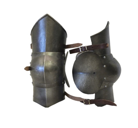 Larp Armor, Medieval Articulated Polyens - Knee armour
