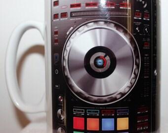 Custom Printed Pioneer DDJ SZ Controller Mug / Mugs perfect for a Gift DJ Kitchen Work Office Studio Cup