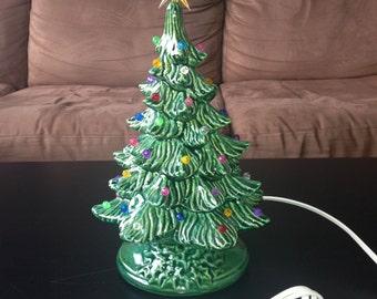 Small Ceramic Christmas Tree