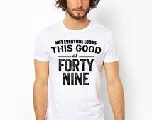 49th birthday, 49th birthday gift, 1967, 49th birthday shirt, party, 49 year old birthday, 49 and fabulous, gift ideas, unisex, men, women