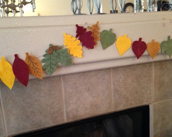 Autumn Leaves Garland / Fall Garland
