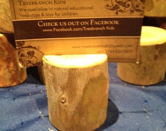 30 Piece Place Card Holder....Great for rustic weddings or that special occasion.