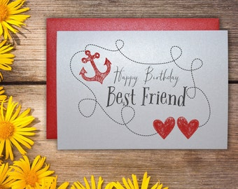 Birthday Card Images for best friend