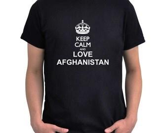 Keep calm and love Afghanistan T-Shirt
