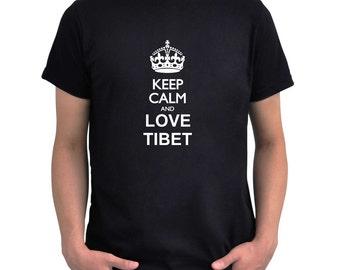 Keep calm and love Tibet T-Shirt