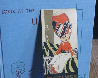 Bookmark Vintage French advertising | illustration Rene VINCENT | Vintage France 1930