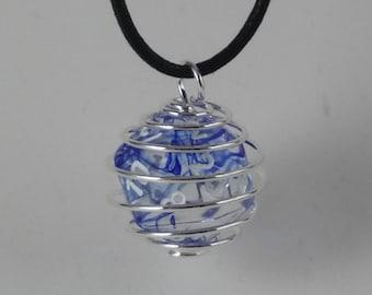 Signature Series D20 Blue Smoke Necklace