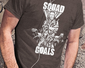 Jurassic World Squad Goals Raptor T-Shirt