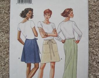 UNCUT Misses Skirt - Butterick Pattern 3912 - Vintage 1995