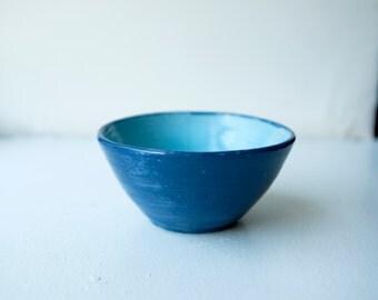 Small Blue Bowl
