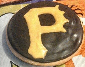 Pirates Baseball Sugar Cookies