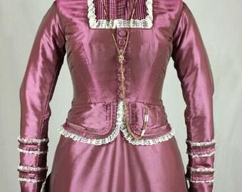 Victorian Bodice Early Bustle PDF Sewing Pattern #0515 Size US 8-30 (EU 34-56)
