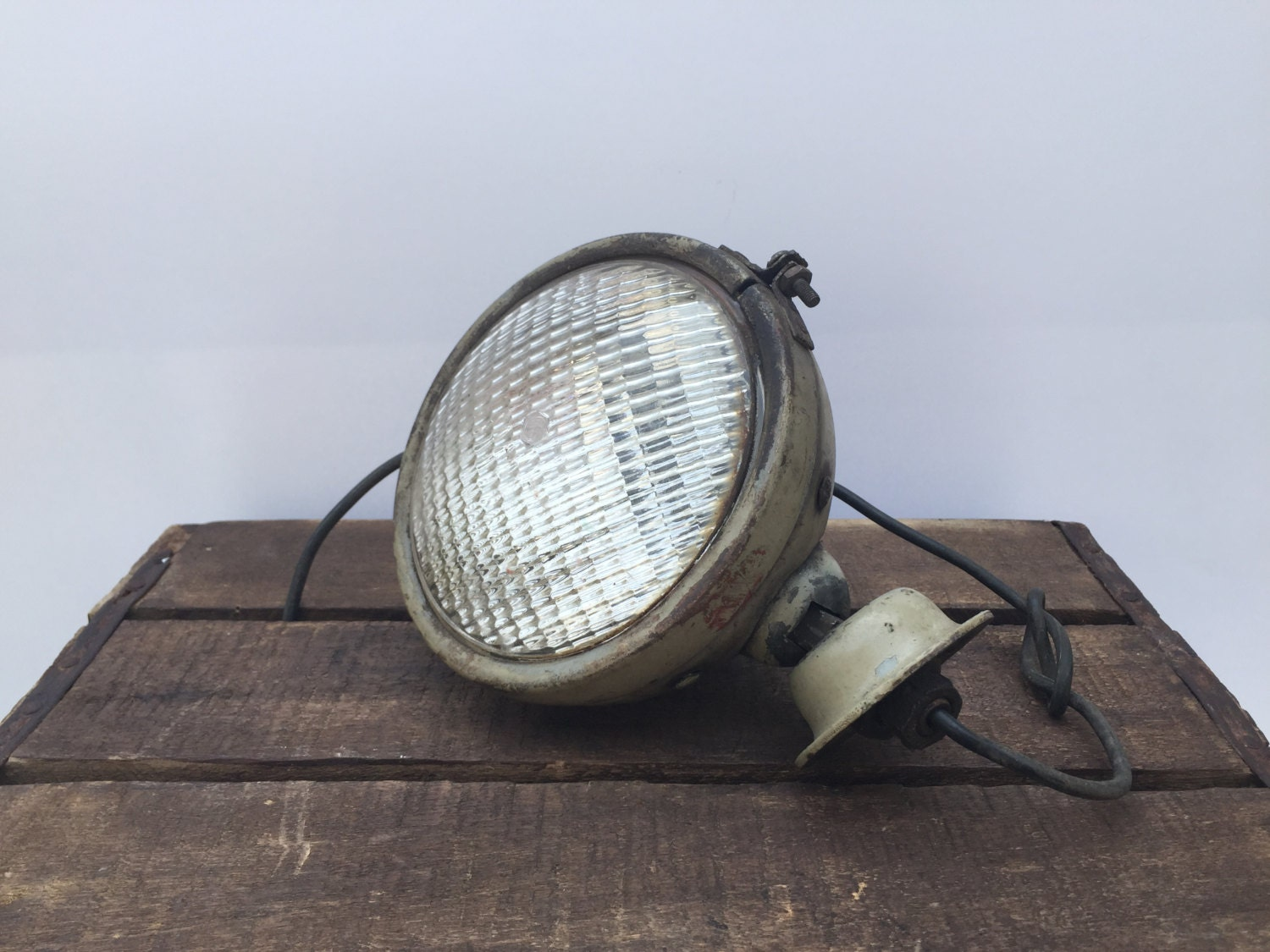 Vintage Tractor Lights : Vintage tract o lite headlight ford tractor light rat by