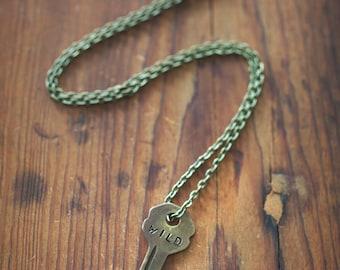 WILD Key Necklace