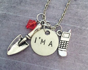 Pretty Little Liars Inspired I'm A Necklace - Pretty Little Liars Jewelry - PLL Jewelry - Fandom Jewelry