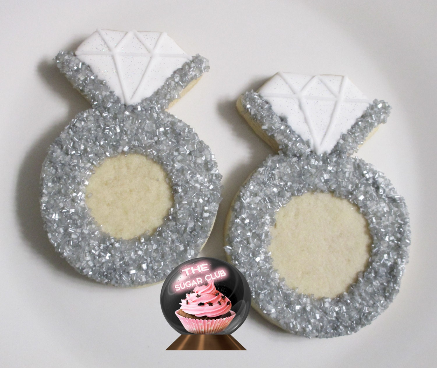 ring cookie bridal shower cookie wedding by
