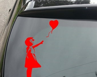 Banksy, There's Always Hope Funny Decal for Car/Home/Windows