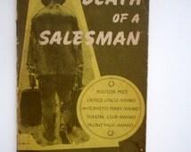 Death of a Salesman by Arthur Miller / Vintage Paperback Book
