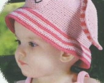 Bunny Rabbit Hat - Easter Hat for Babies, Girls Boys
