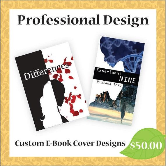 Handmade Book Cover Design ~ Custom e book cover design by beepix on etsy