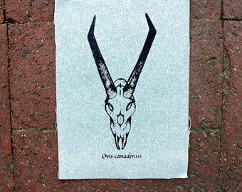 "Rocky Mountain Goat Patch 6.75"" x 5"""