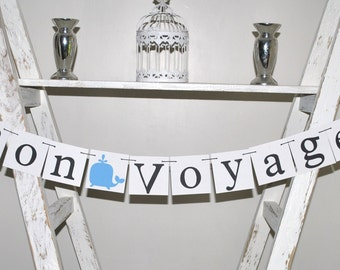 Bon Voyage Banner - Party Decor