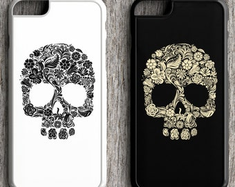 Skull iPhone Case for couples and best friends
