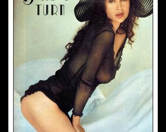 "Mature Celebrity Nude : Jaid Barrymore Single Page Photo Wall Art Decor 8.5"" x 11"""
