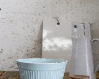 Ceramic Serving Bowl, Ceramic Handmade Bowl,ceramic Bowl In Light Blue, Large Salad Bowl, Housewarming Gift