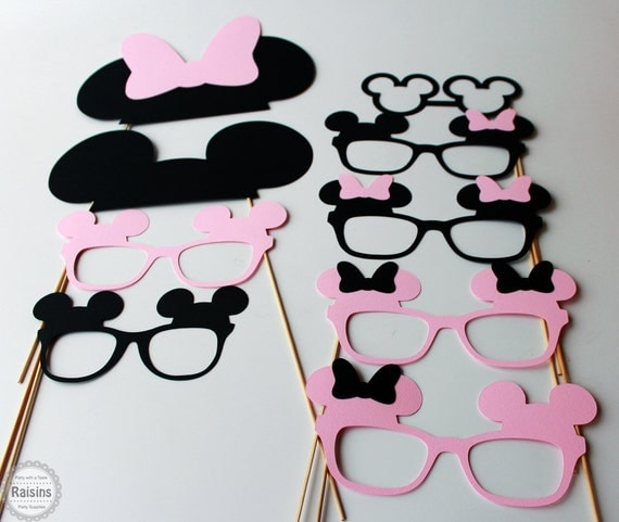 Minnie Mouse Photo Booth Props Mickey Mouse Photo Booth